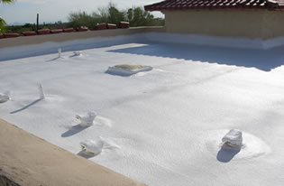 Call 1st Class Foam Roofing today