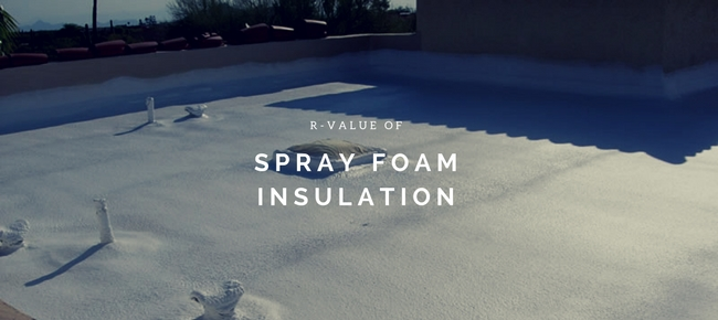 r-value of spray foam insulation