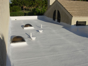 Arizona Polyurethane Foam Roofing by First Class Foam Roofing.