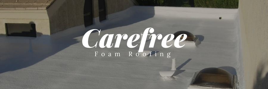 Carefree Foam Roof Installs by 1st Class Foam Roofing & Coating