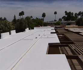 We provide experienced foam roofing and repair throughout Glendale, Arizona