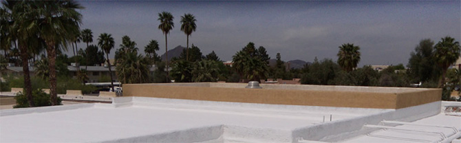 Our expert roofers can help with your New River foam roof needs!
