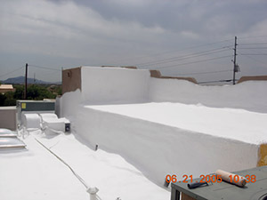 fast installation spray foam roofing
