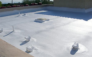 flat foam roofing in phoenix