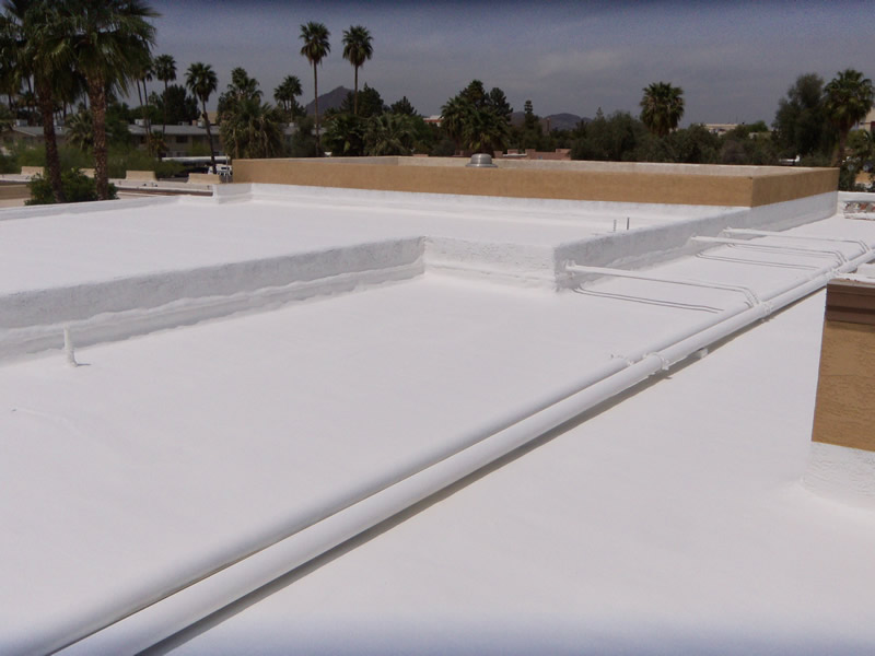 Concrete Roof Coatings 1st Class Foam Roofing And