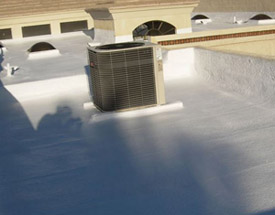 Keep your spray foam roof coating in Phoenix, AZ clean to reduce damage.