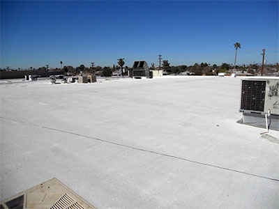 phoenix building owner saving energy with foam roofing