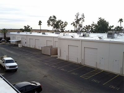 phoenix building owner saving money with foam roofing