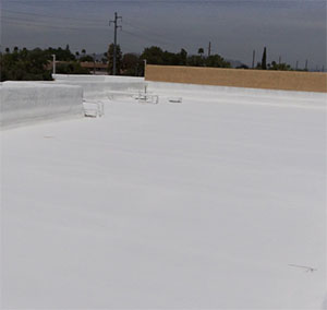 Call our Cave Creek roofers for all your foam roofing needs!