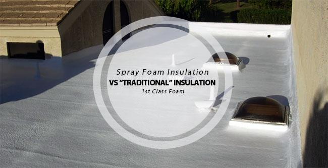 Spray Foam Insulation Vs Traditional Insulation 1st