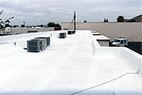what is sprayed foam roofing
