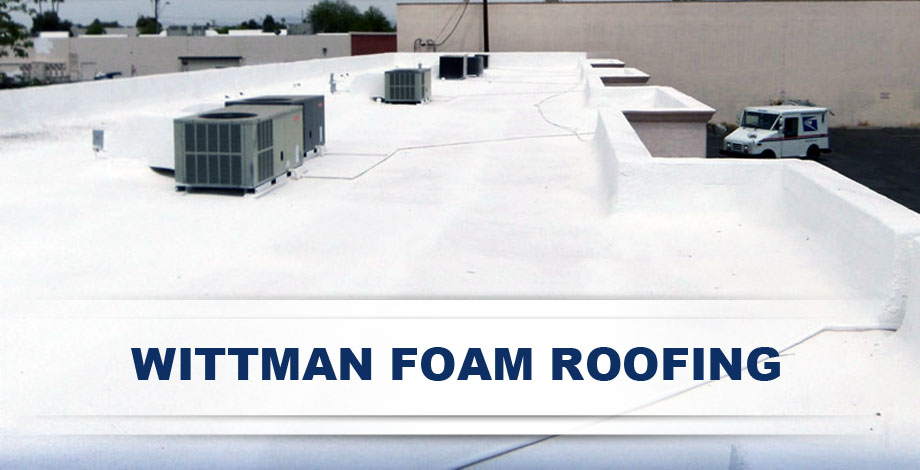 Team of Expert Wittman Foam Roofing Contractors